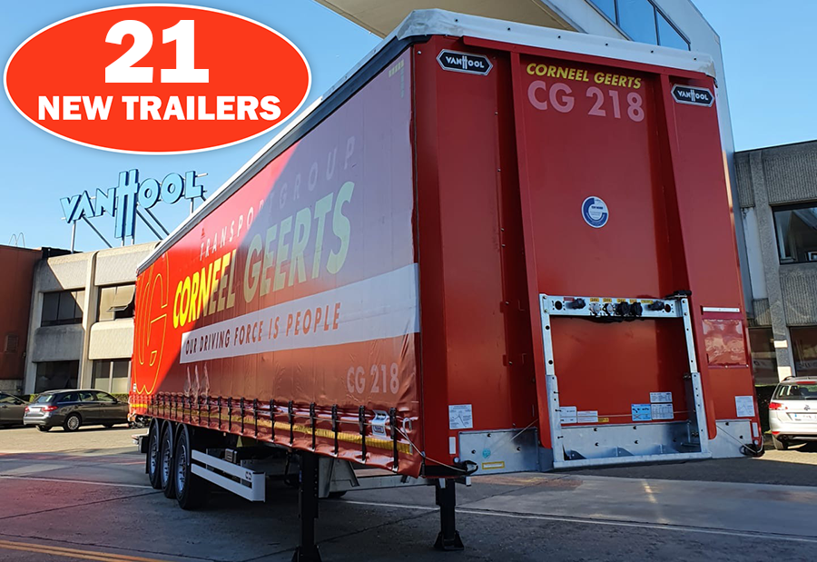 Corneel Geerts Announces 21 New Trailers