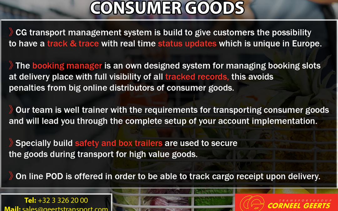Consumer Goods Transportation