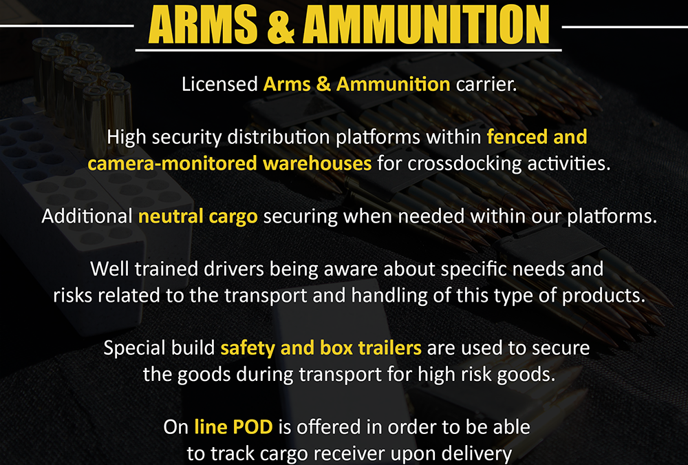 Arms and Ammunition Transport